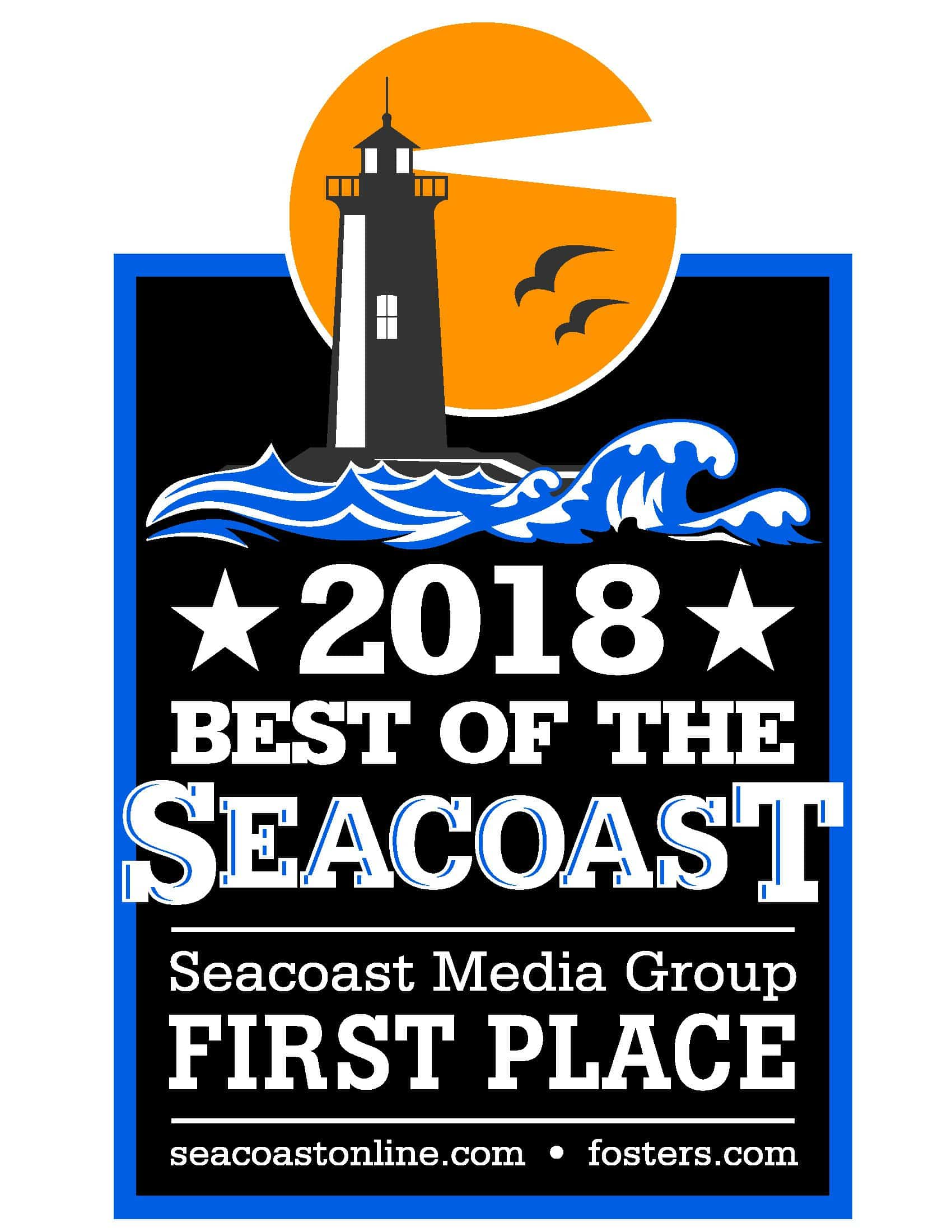 Best Of The Seacoast 2019 2018 FIRST PLACE Best of Seacoast Logo   Harbour Women's Health